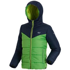 Regatta Lofthouse II Jacket Kids Navy/Fairway Green